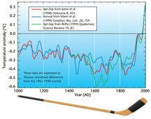 Mann-Jones hockey stick